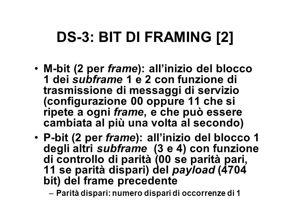 DS-3: BIT DI FRAMING [2]